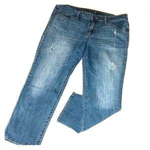 Apt. 9 Modern fit distressed jeans